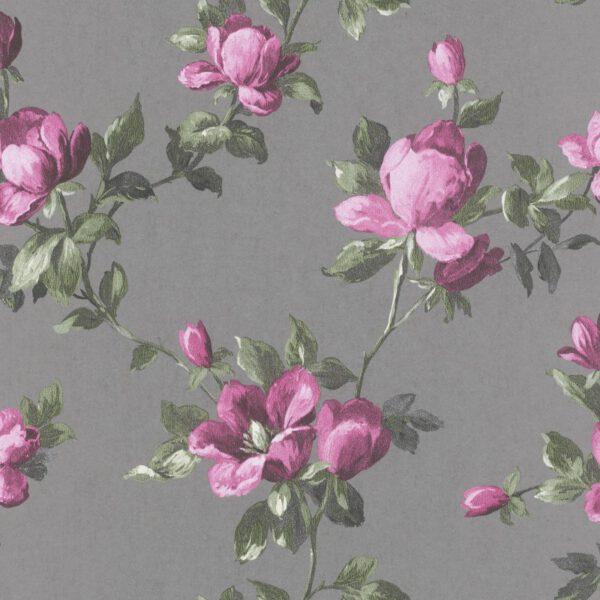 rasch behangpapier bloemen 502169
