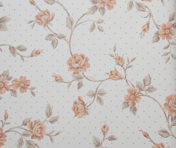 bloemen-behangpapier-oranje-80801