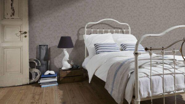 321373_bruin_behangpapier-betonlook-slaapkamer
