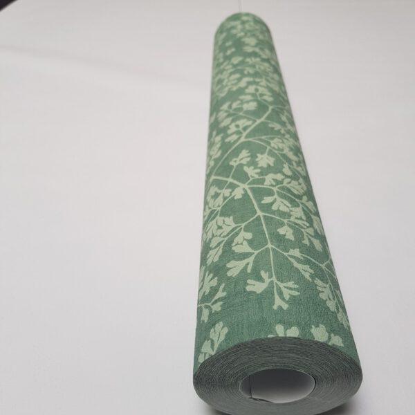 490565 _bloemen_behangpapier_groen