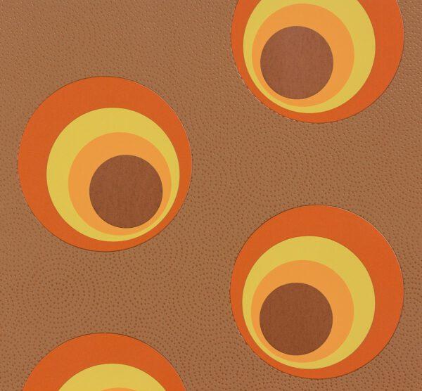 behang-retro-bruin-oranje-57235