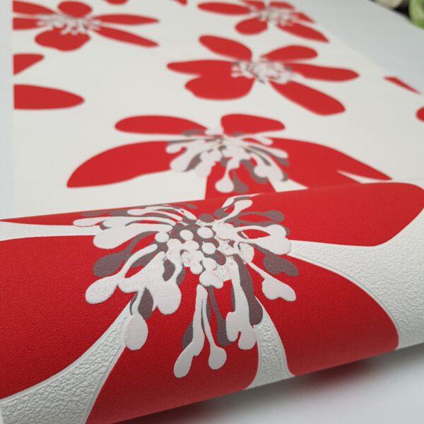 bloemen-behangpapier-rood-700169