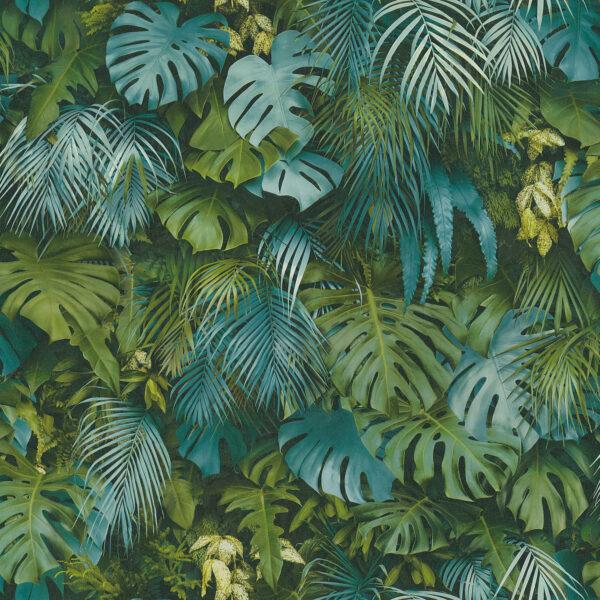 jungle-behang-37280-3-kamer-groen-blauw