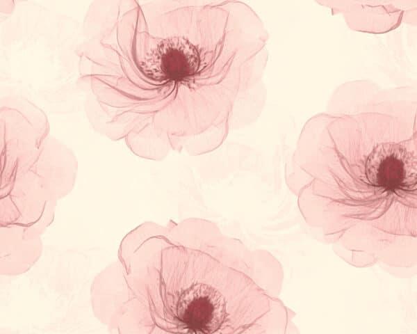 bloemen-behangpapier-roze-342743